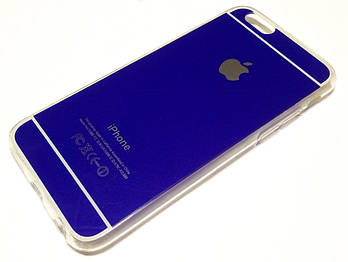 Чехол силиконовый для iPhone 6 / 6s синий