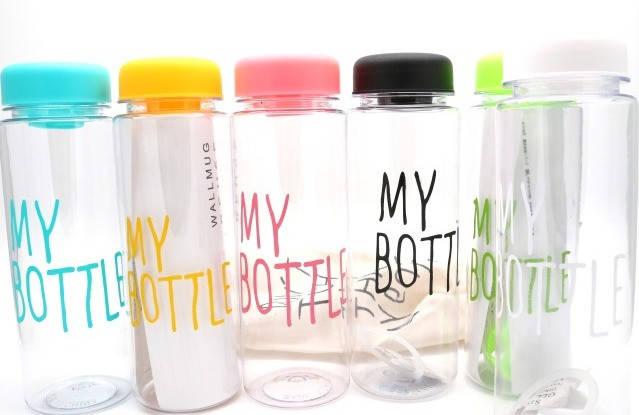 """Бутылка для воды с мешочком """"My Bottle"""" 500 мл, фото 2"""