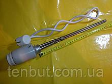 "Тэн в алюминиевую батарею с терморегулятором правая резьба 0.5 кВт./1"" дюйм /L-320мм. Украина"