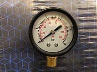 Манометр давления воды 4 бар вертикальный