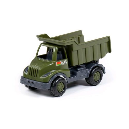 Автомобиль Кнопик самосвал военный 173х83х97