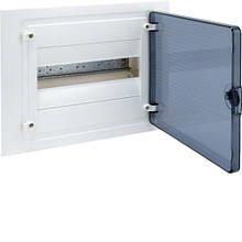 Щит внутреннего монтажа GOLF Hager 12 мод. с прозрачными дверцами (VF112TD)
