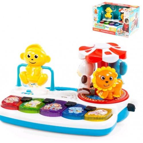 Игрушка развивающая Веселое пианино (в коробке) 30 * 18 5 * 18 5 см ТМ POLESIE