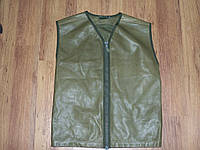 Британский защитный кожаный жилет
