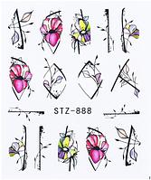 Слайдер водный для дизайна ногтей STZ-888