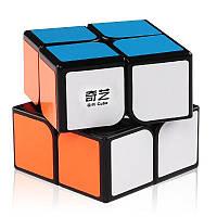 QiYi QiDi S 2x2 black, Кубик 2х2 черный