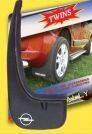 Брызговики на Opel Vectra B 2 шт.