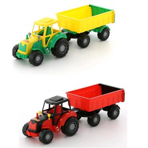 Трактор Мастер с прицепом №1 45 * 13 5 * 13 5 см ТМ POLESIE