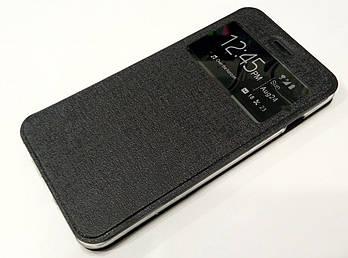 Чехол книжка с окошком Ulike для iPhone 6 Plus / 6s Plus черная