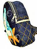 Джинсовый рюкзак Русалка, фото 2