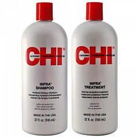 Набор для волос CHI Infra Шампунь 950 мл + Кондиционер 950 мл