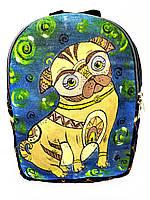 Джинсовый рюкзак Пикинес, фото 1