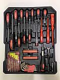 Набор инструментов Kraft Royal Line PL-356BLG 356 pcs, фото 2