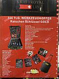Набор инструментов Kraft Royal Line PL-356BLG 356 pcs, фото 6