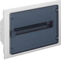 Щит внутреннего монтажа GOLF Hager 18 мод. с прозрачными дверцами (VF118TD)