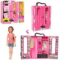 Кукла Барби KaibibiBLD120 шарнирная гардероб