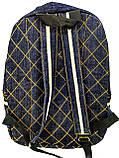 Джинсовый рюкзак Котосемья, фото 3