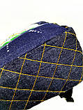Джинсовый рюкзак Котосемья, фото 4