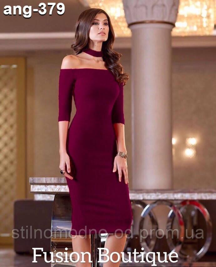 """Жіноча сукня + чокер """"Мальта""""  від Стильномодно"""