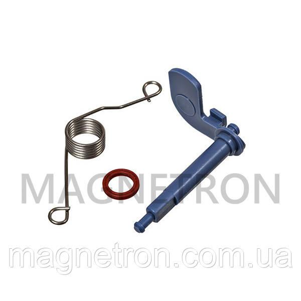 Рычаг диспенсера + пружина + прокладка для посудомоечных машин Bosch 166630