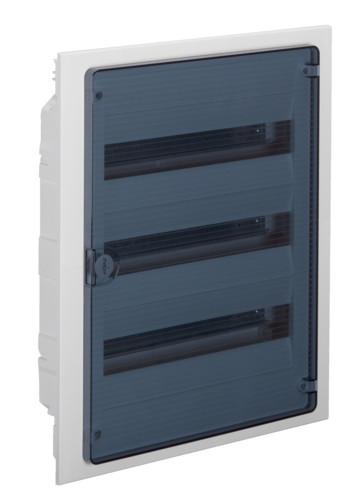 Щит внутреннего монтажа GOLF Hager 54 мод. с прозрачными дверцами (VF318TD)