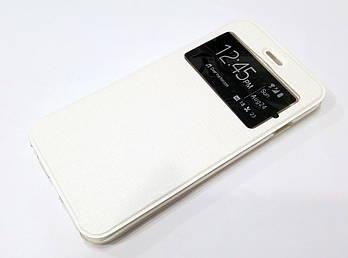 Чехол книжка с окошком Ulike для iPhone 6 Plus / 6s Plus белая