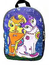 Джинсовый рюкзак Котосвидание