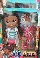 Кукла Доктор Плюшева с аксессуарами, в коробке
