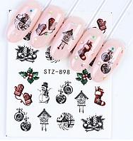 Слайдер водный для дизайна ногтей STZ-898