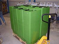 Корзины покупательские. Пластиковые корзины, Корзинка для покупателей, Корзинка для магазина, фото 1