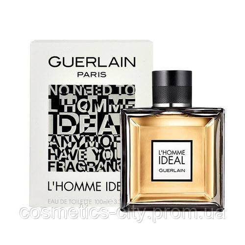 Guerlain L'Homme Ideal, мужская туалетная вода 100 мл.