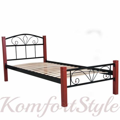 Ліжко Лара Люкс Вуд односпальне 900*1900/2000