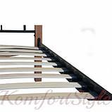 Ліжко Лара Люкс Вуд односпальне 900*1900/2000, фото 2