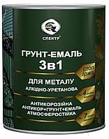 """Грунт-эмаль 3 в 1 """"СПЕКТР"""" серая RAL 7042 2,5 кг"""