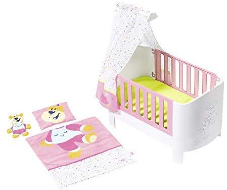 Кроватка для куклы Беби Борн Волшебная кровать с балдахином Baby Born Zapf Creation 824399