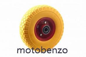 Колесо 3,00 -4 TL безкамерне під вісь d-20мм жовте