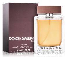 Dolce&Gabbana The one for men, мужская туалетная вода 100 мл.