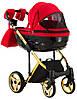 Детская универсальная коляска 2 в 1 Adamex Chantal C7-A, фото 5