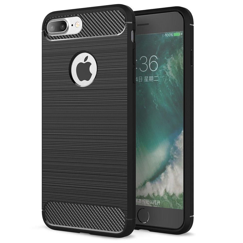 Чехол Carbon для Iphone 7 Plus / 8 Plus бампер black