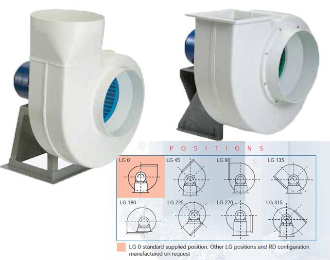 Центробежный вентилятор трехфазный 6-ти полюсный SOLER&PALAU CMPT/6-20