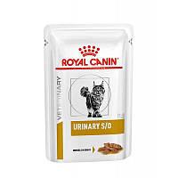 Royal Canin Urinary S/O паучи с курицей-диета при заболевании мочевыделительной системы у кошек 0.085 г