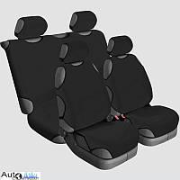 Майки-чехлы Beltex Cotton черный 13210 (4 сиденья)