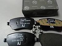Колодки тормозные передние (оригинал) на Nissan Micra, Note, фото 1