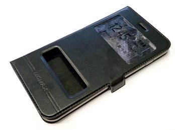 Чехол книжка с окошками momax для iPhone 7 Plus черный
