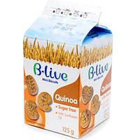Печиво без цукру з кіноа, B-live Qinoa mini biscuits