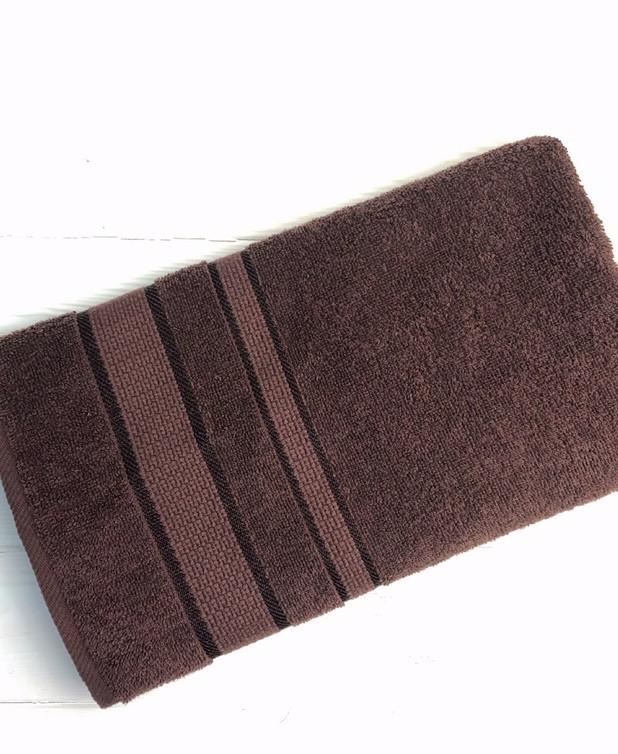 Полотенце Uztex Group 50х90 см. Темно-коричневый 1105