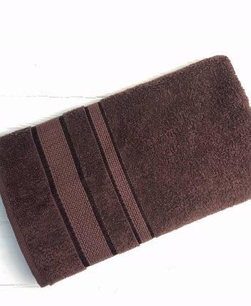 Полотенце Uztex Group 50х90 см. Темно-коричневый 1105, фото 2