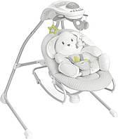 Кресло качалка Cam GIRONANNA EVO с музыкой (серый)