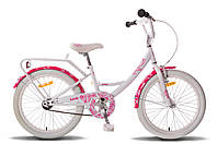 Велосипед Pride Sandy Gloss White/Pink 20