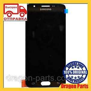 Дисплей Samsung G570 Galaxy J5 prime с сенсором Черный Black оригинал , GH96-10325A, фото 2